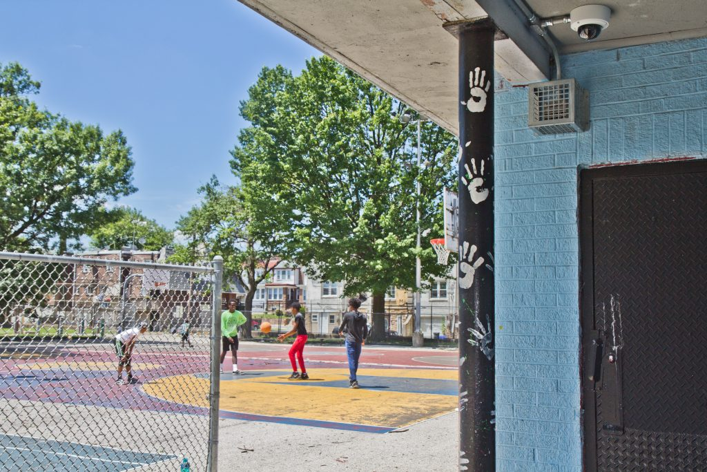 Barrett playground is one of 32 Philly parks that contain the Mosquito devices.