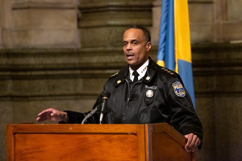 Philadelphia Police Commissioner Richard Ross