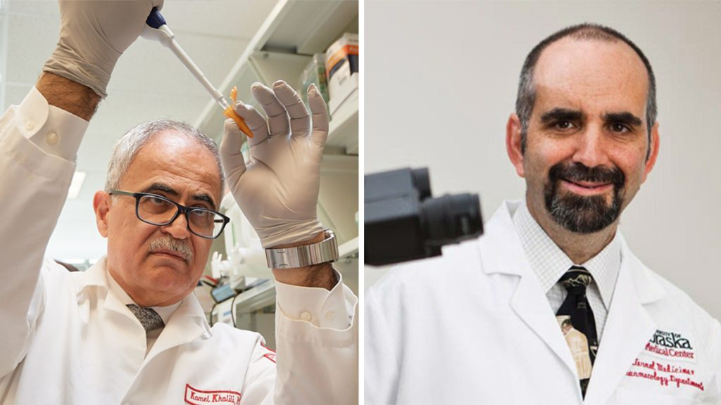Iranian immigrant and Jewish Philly native team up to cure HIV in