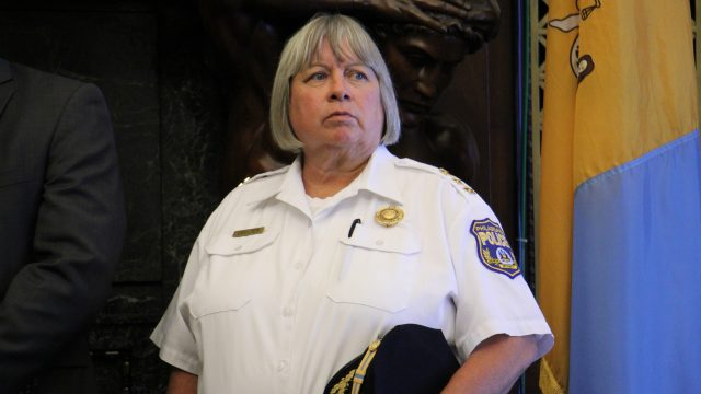 Acting Police Commissioner Christine Coulter