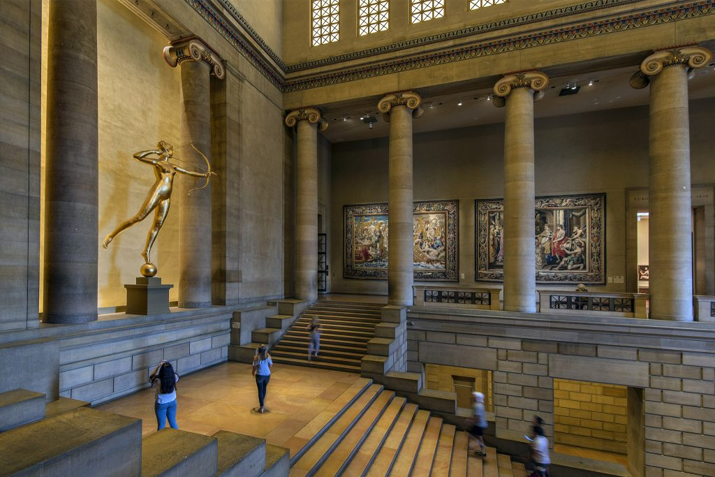 Inside the Philadelphia Museum of Art