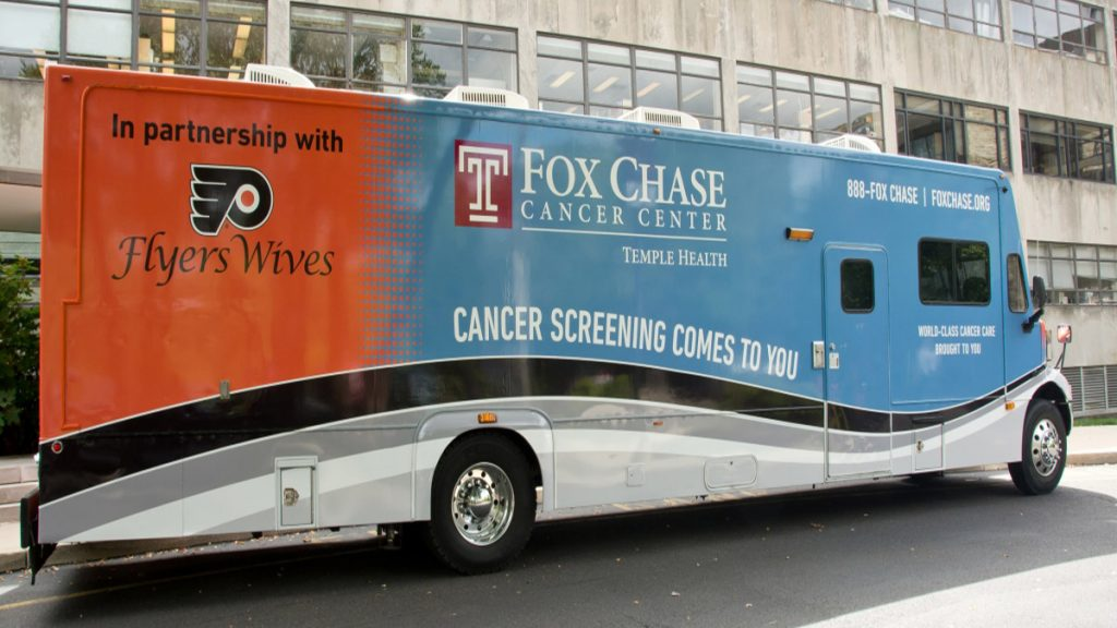A mobile mammography van helps boost Philly's rate