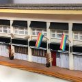 A diorama of Woody's, the beloved Gayborhood bar