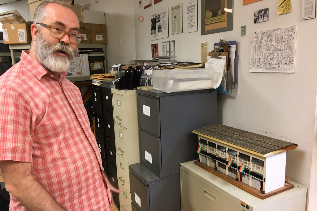 John Anderies, Wilcox Archives director