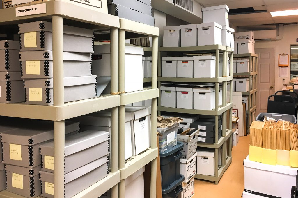 The archives are overflowing