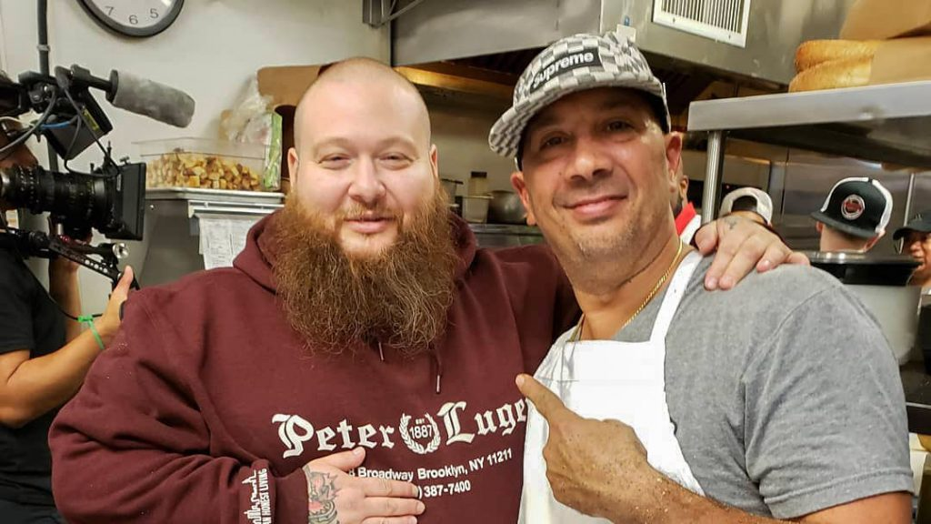 Action Bronson and Angelo's owner Danny DiGiampietro