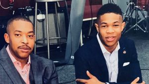 Brothers Antonio (left) and Juwan Bennett have launched a police pipeline mentorship program