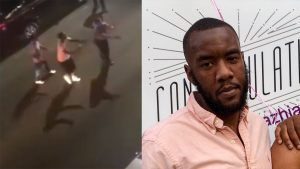 Darrin Lee, right, was shot by Philadelphia police in Kensington on the night of Sept. 2, 2019