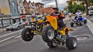 Montana, 33, has been riding dirt bikes and ATVs for more than two decades