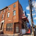 The Robert Purvis house is being repaired at 16th and Mount Vernon.