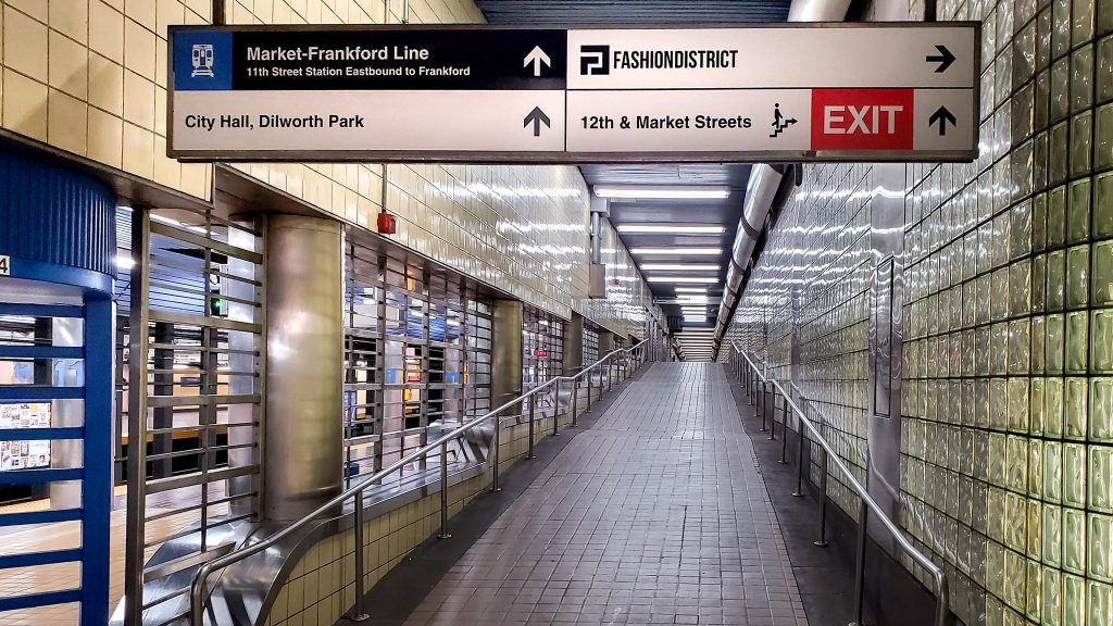 New Map Philly Underground Concourse From The Gallery To The Comcast Center On Top Of Philly News