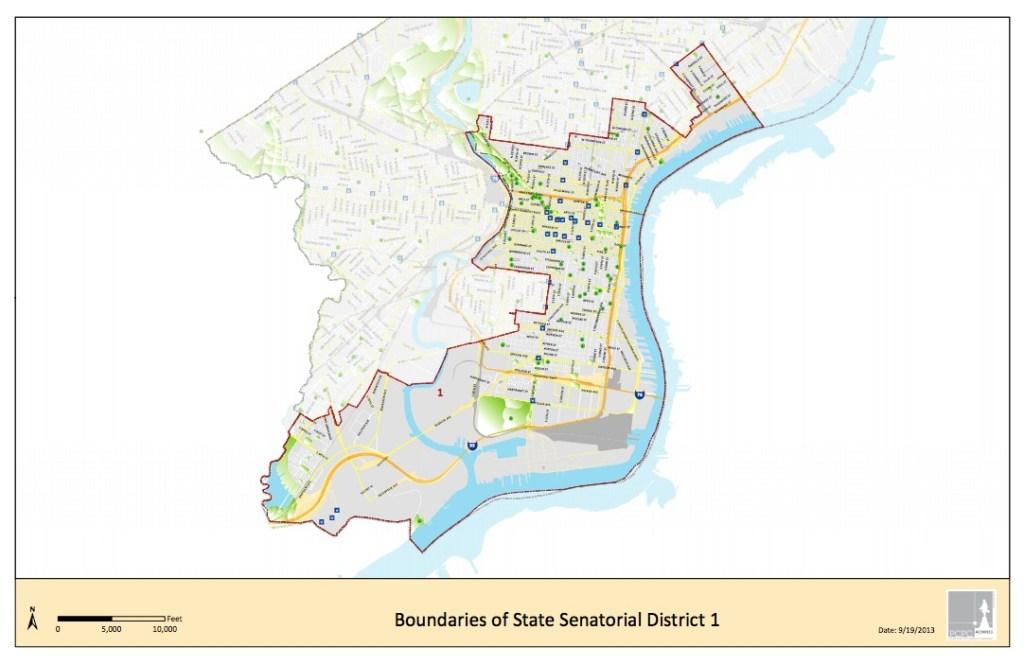 1st Senate District