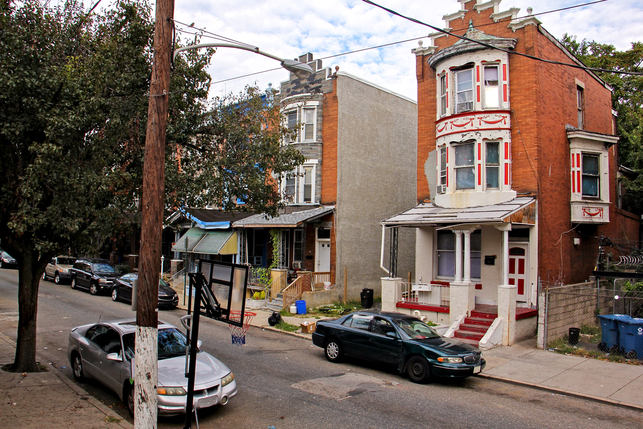 Homeowners who suffered damage during the North Philly shootout may