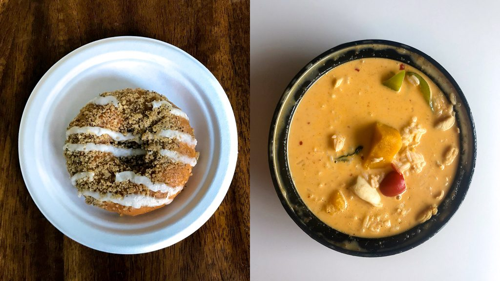 Pumpkin donut at Federal Donuts and pumpkin curry at Circles Thai are just two of the options for orange gourd treats this fall