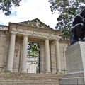 The Meudon Gate at the Rodin museum is a replica of the one at Rodin's estate in the suburb of Paris