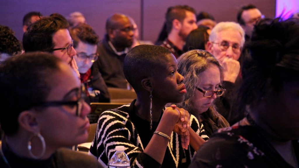 About 200 journalists attended the Better Gun Violence Reporting Summit on Nov. 8, 2019