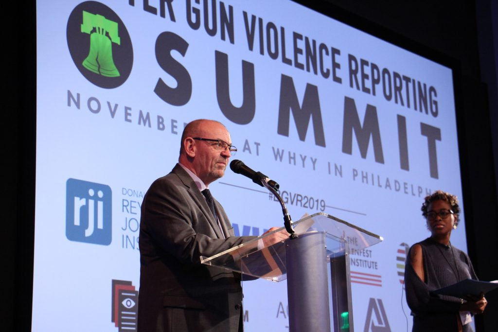 Jim MacMillan, director of the Initiative for Better Gun Violence Reporting