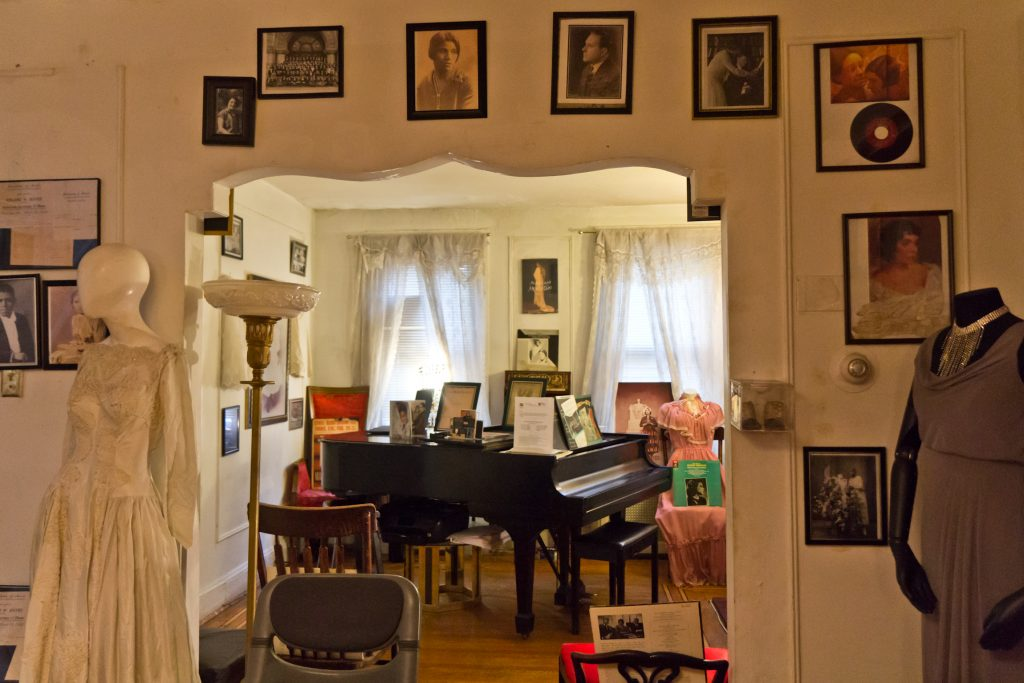 The Marian Anderson House was built in 1857 and purchased by Anderson with money she made touring in 1924