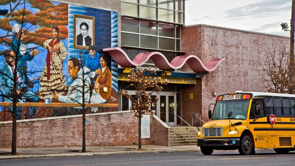 Julia De Burgos Elementary on Lehigh Avevnue  in Philadelphia