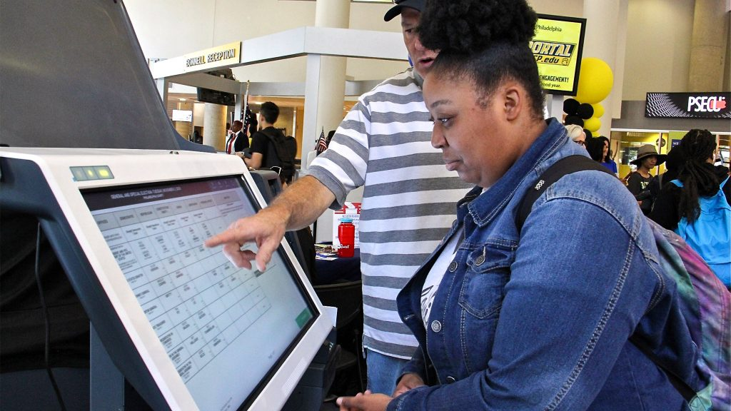 There were lots of demonstrations of the new Philly voting machines, but not everyone got a chance to try them before Election Day