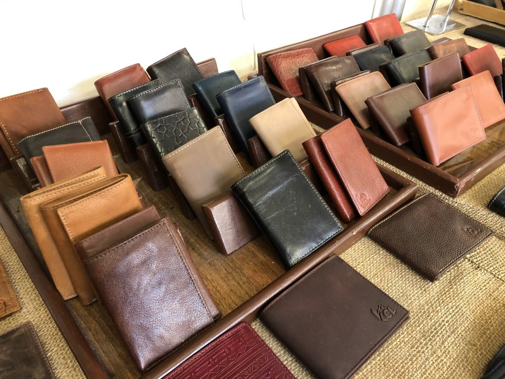 The KCL Leather selection