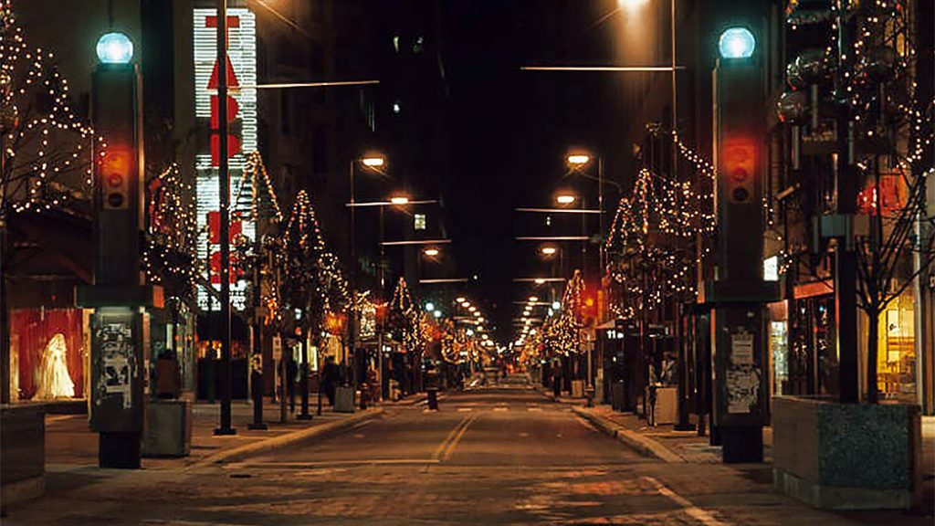 Chestnut Street in 1977