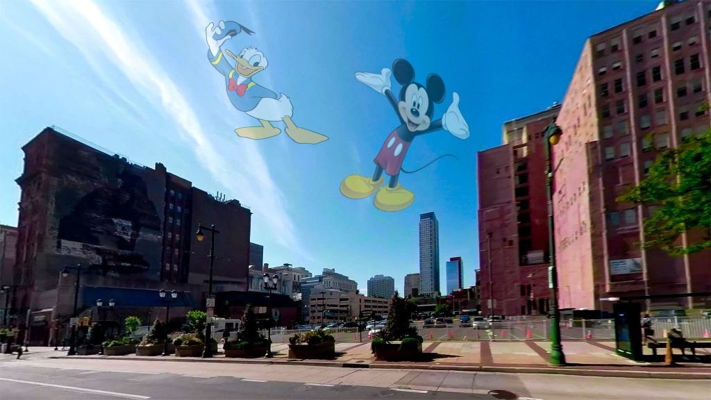 The empty lot at 8th and Market was almost turned into a Disney attraction