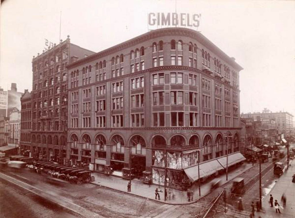 The glorious Gimbels department store in 1899