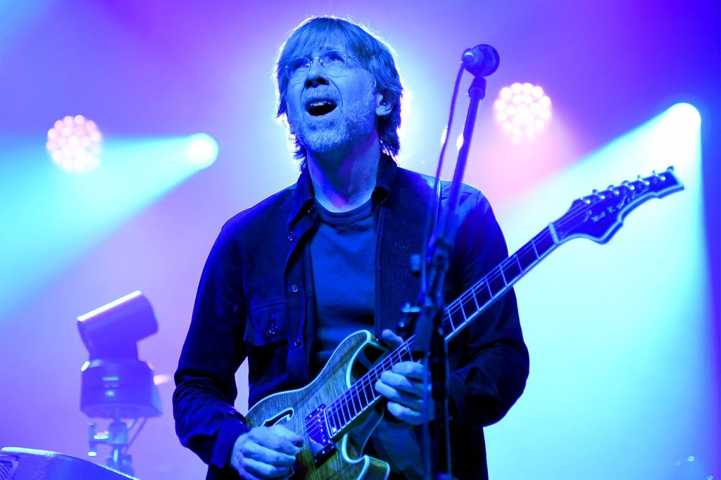 PHILADELPHIA, PENNSYLVANIA - DECEMBER 03: Trey Anastasio of Phish perform a live exclusive concert for SiriusXM and Pandora listeners at The Met Philadelphia on December 03, 2019 in Philadelphia, Pennsylvania. (Photo by Kevin Mazur/Getty Images for SiriusXM)