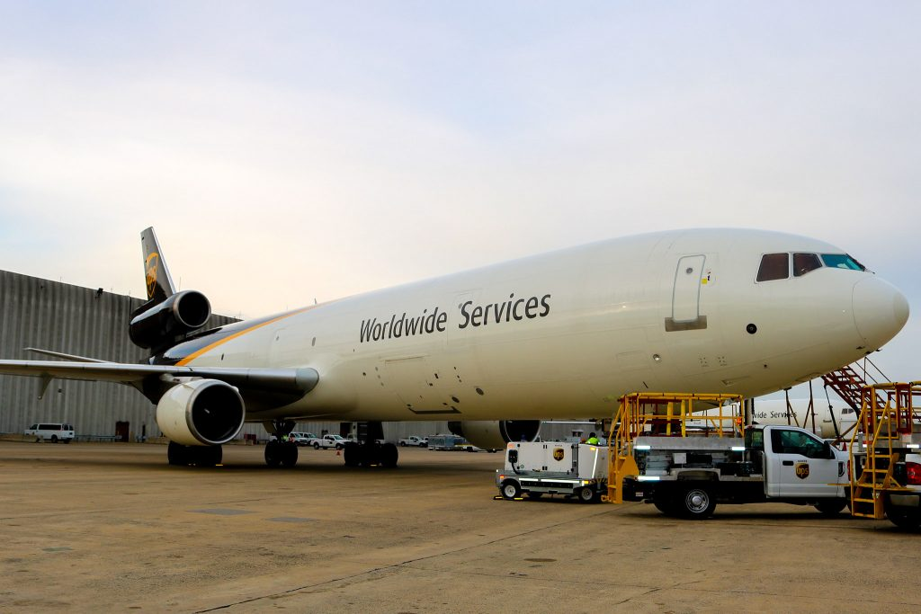 Cargo planes at PHL are loaded full this time of year