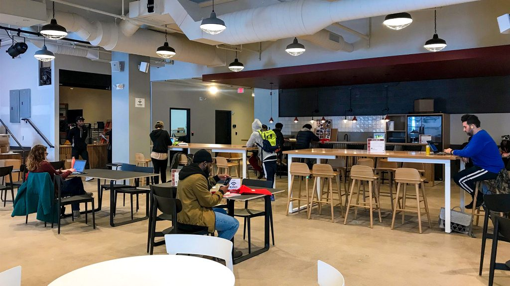 REC Philly is 'not a coworking space' inside the new Gallery mall