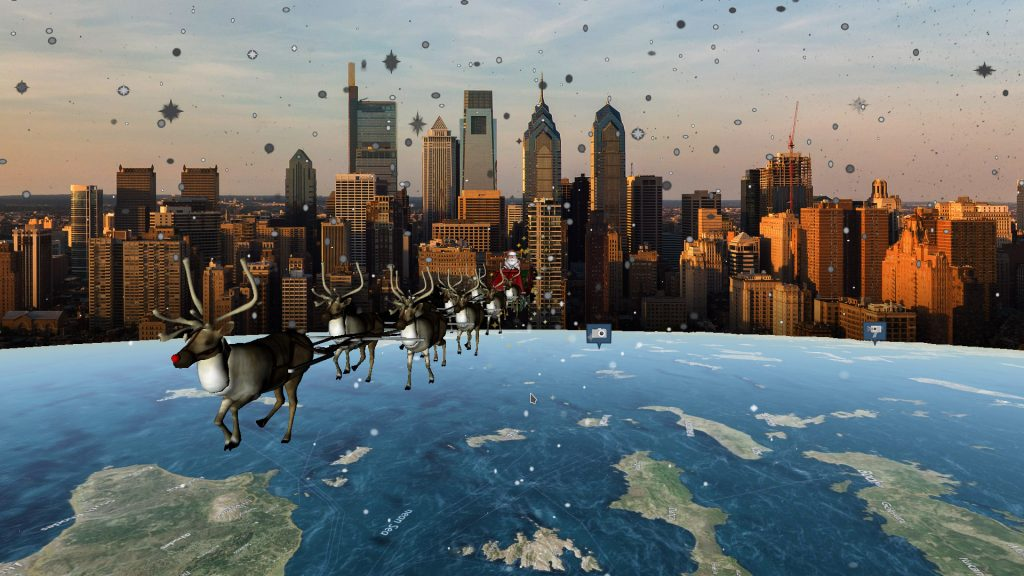 NORAD's Santa tracker is powered by Philly