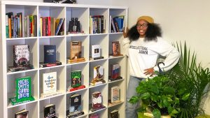 Jeannine A. Cook is the owner of Harriet's Bookshop, newly opened in Fishtown