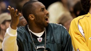 Kobe Bryant was a lifelong Eagles fan