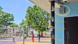 Barrett playground is one of 30 Philly parks that contain sonic devices that target young people by emitting a high frequency