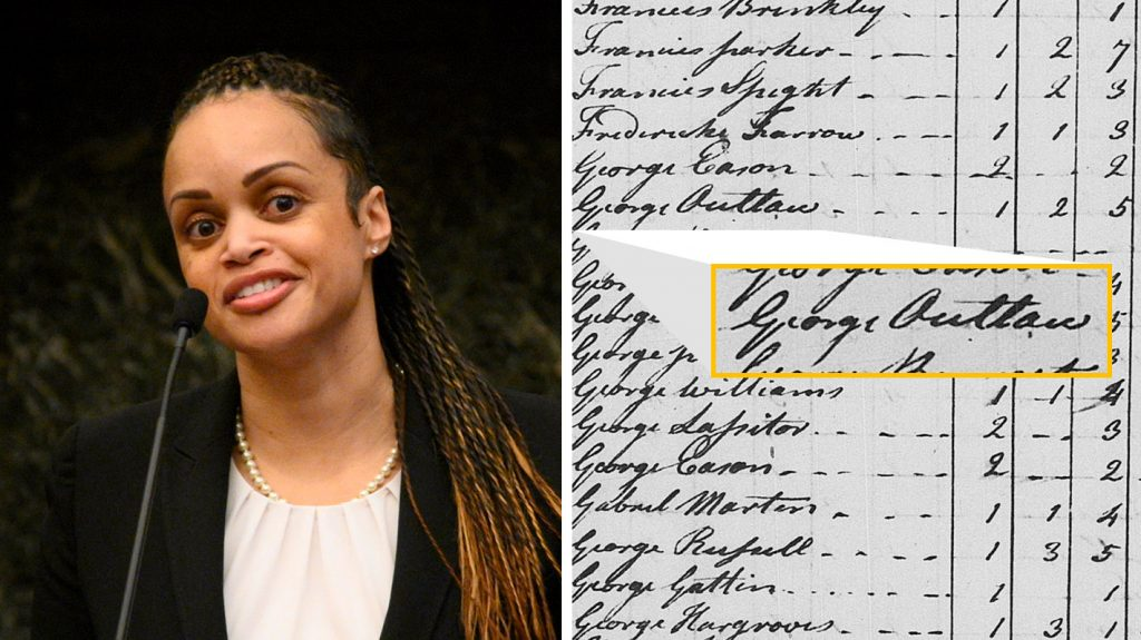 Incoming Philly Police Commissioner Danielle Outlaw; North Carolina property records from the late 18th century