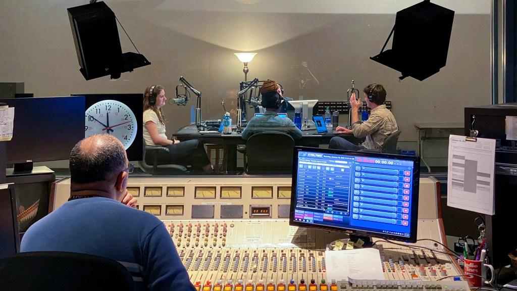 Hot takes in the studio