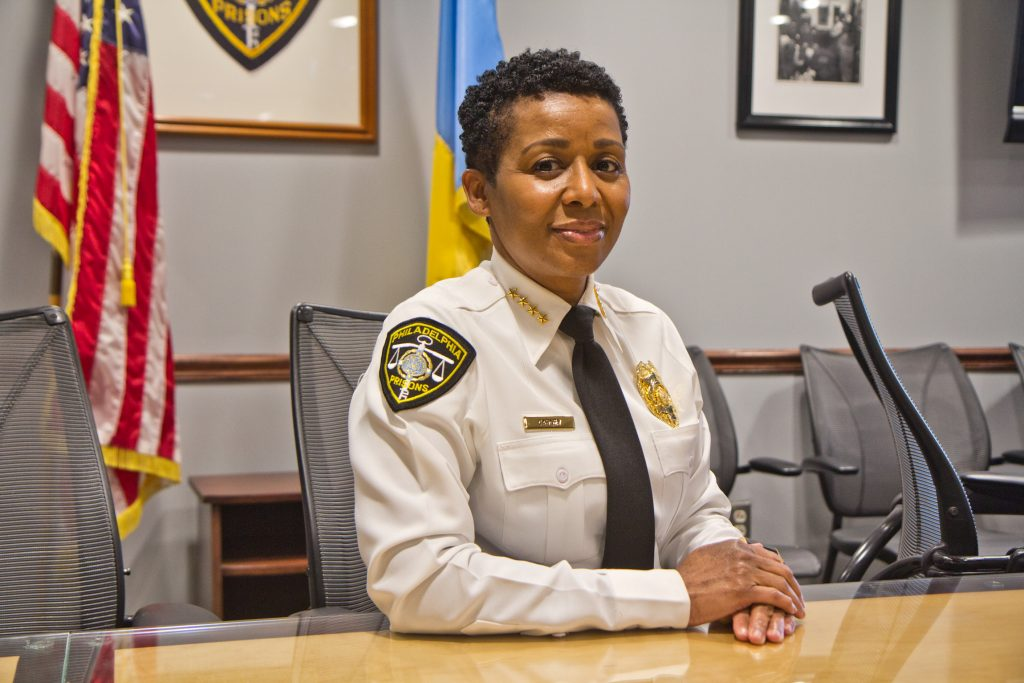 Blanche Carney is the Commissioner of Prisons in Philadelphia
