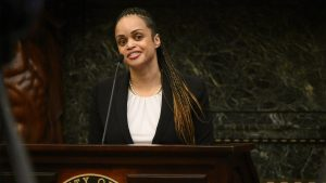Philly Police Commissioner Danielle Outlaw in December