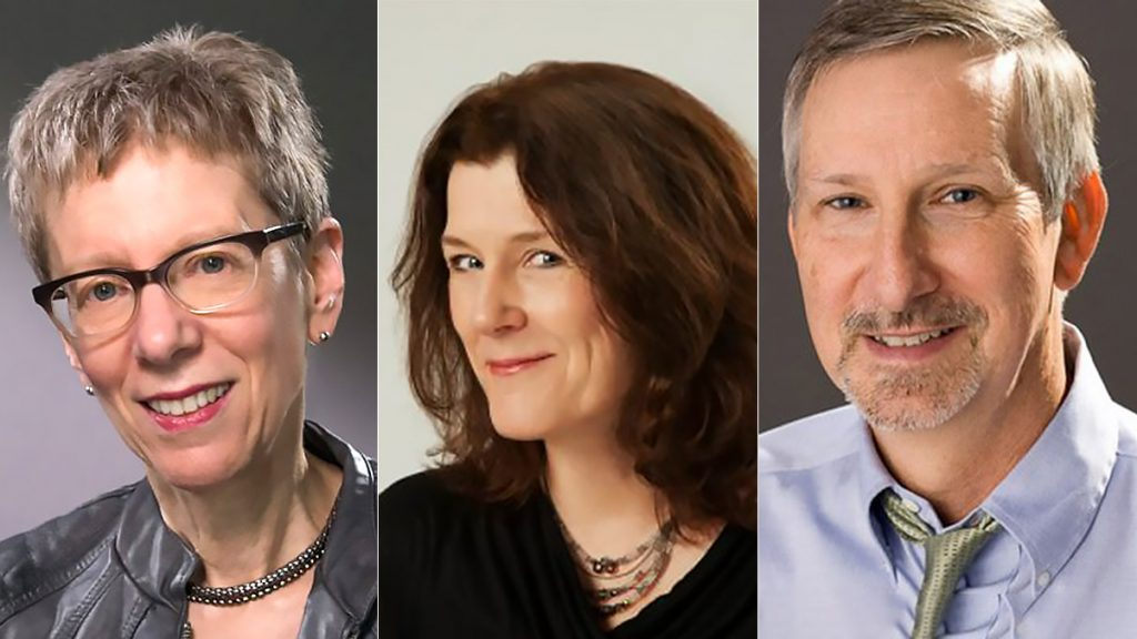 Terry Gross, Marty Moss-Coane and Dave Davies all share a birthday