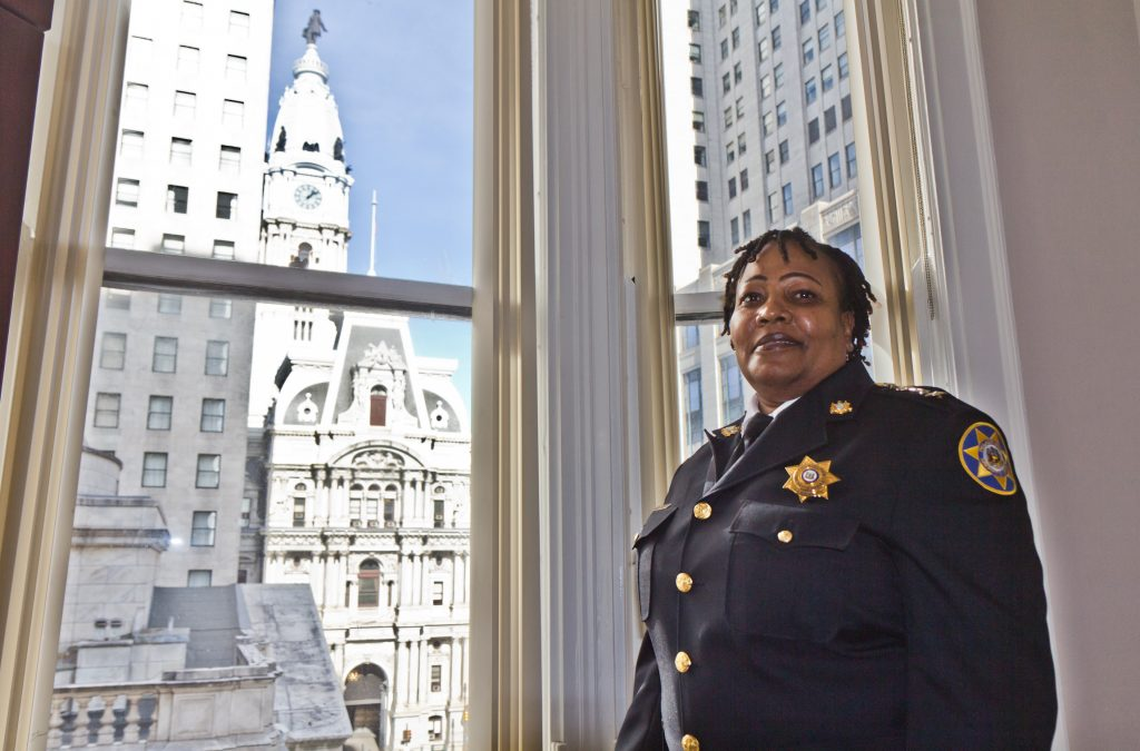 Sheriff Rochelle Bilal is the first woman and African American elected to the office