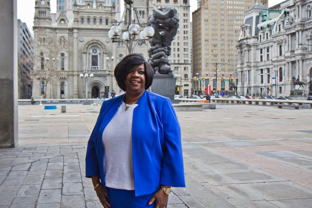 Vanessa Garrett Harley is deputy managing director for criminal justice and public safety in Philadelphia
