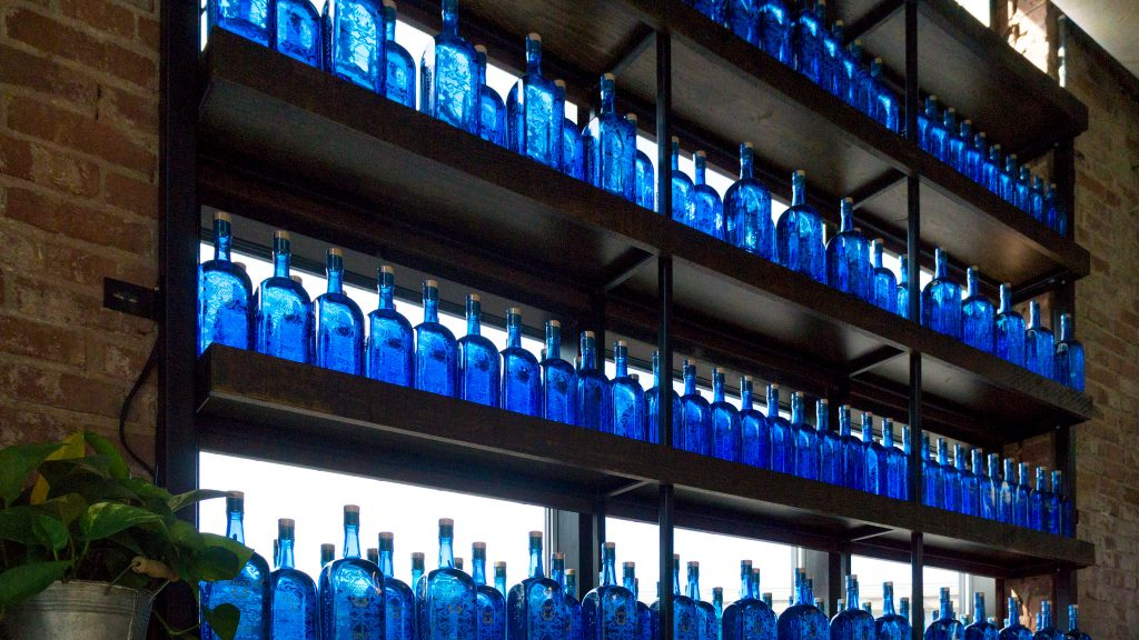 You can pick up Bluecoat gin at 'no touch' operation in Fishtown