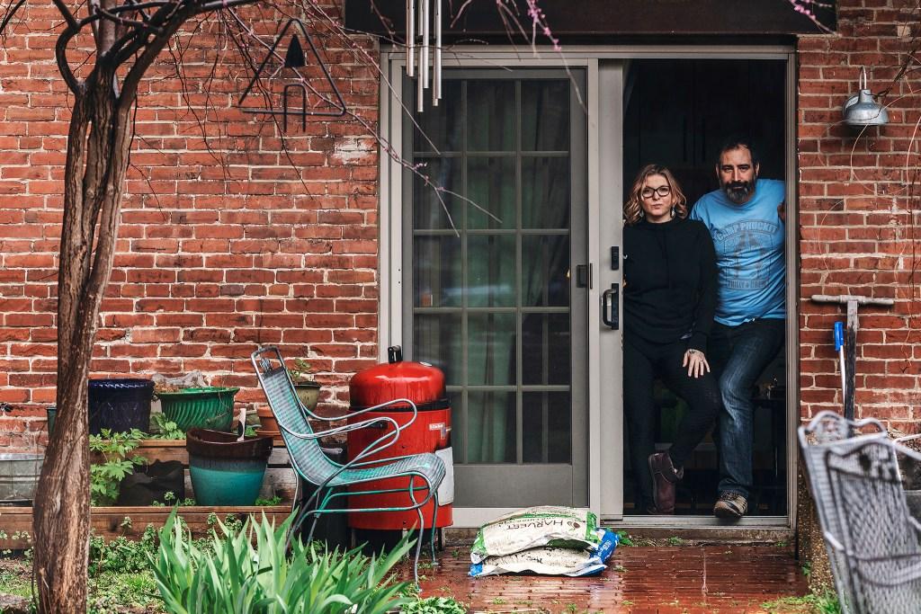 Dana and Terry under quarantine