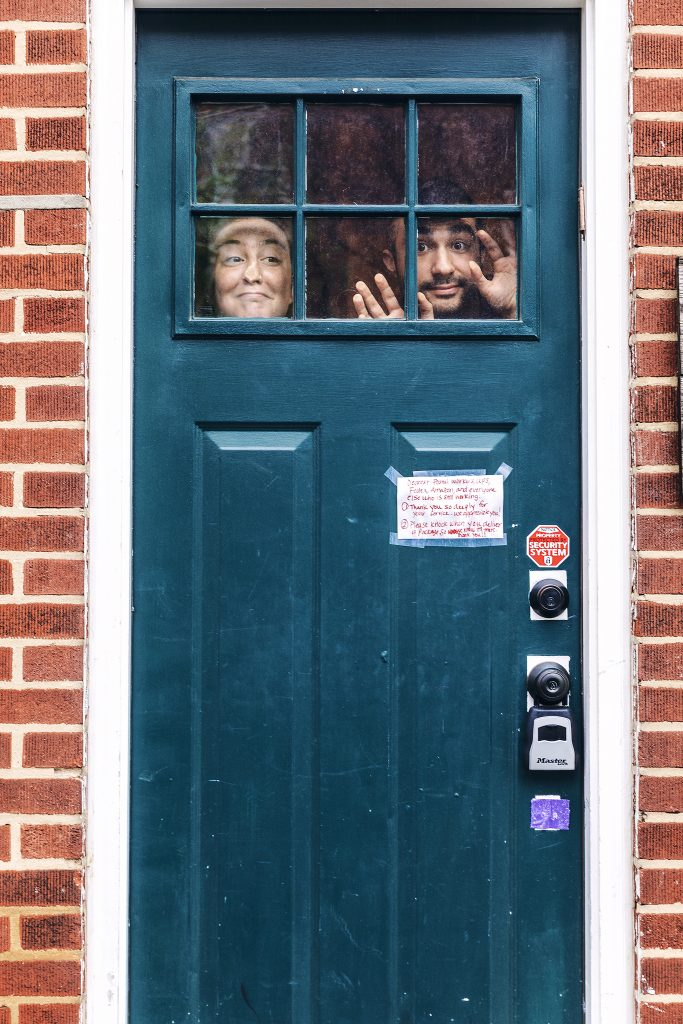 Chris and Randi under quarantine
