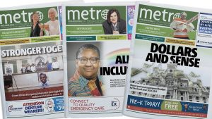 A renewed local focus is obvious on recent covers
