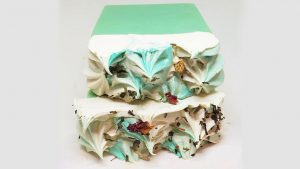 Sandalwood-eucalyptus soap bars from Serenitee Pure and Natural