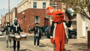 Positive Movement Entertainment is better known as the 'Philly Elmo drumline'