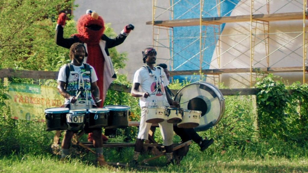 Tony 'Tone' Royster is the founder of Positive Movement Entertainment, known for its Elmo-clad drum major