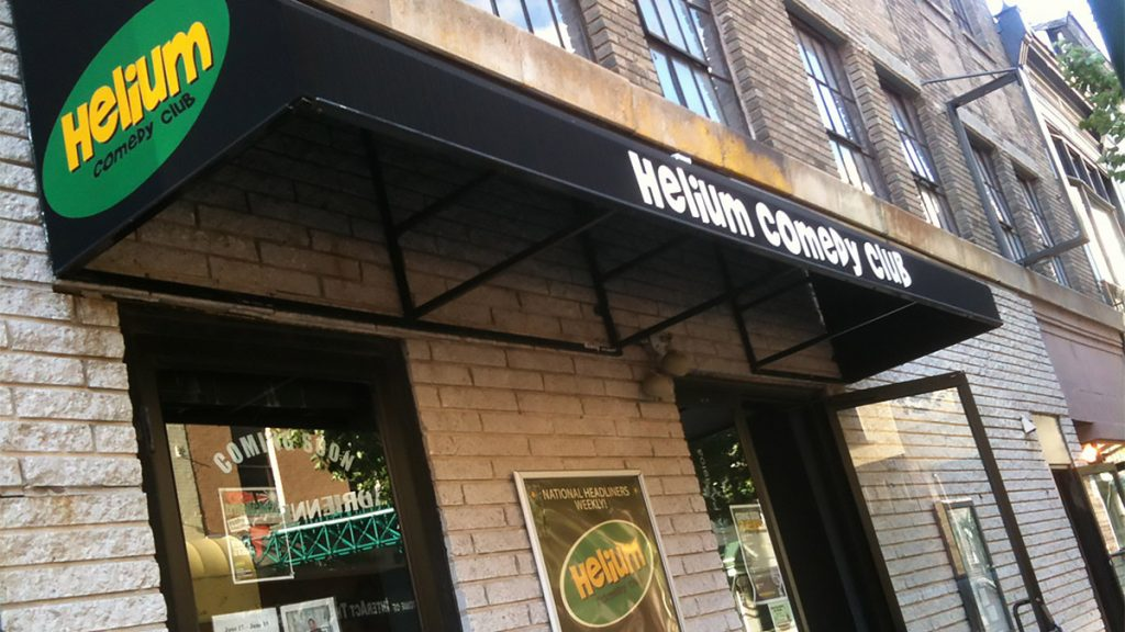 Helium Comedy Club at 20th and Sansom has cancelled all shows — but online business is picking up